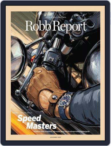 Robb Report November 1st, 2020 Digital Back Issue Cover