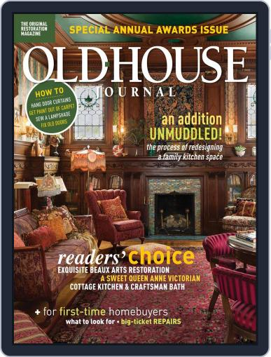Old House Journal (Digital) December 1st, 2020 Issue Cover