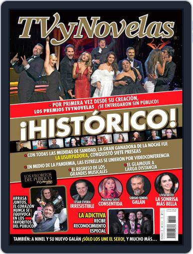 TV y Novelas México (Digital) November 2nd, 2020 Issue Cover