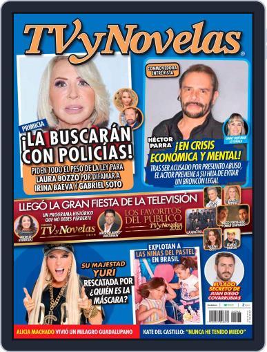 TV y Novelas México (Digital) October 26th, 2020 Issue Cover