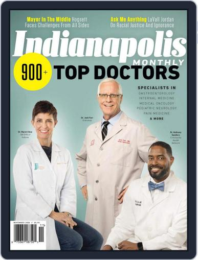 Indianapolis Monthly (Digital) November 1st, 2020 Issue Cover