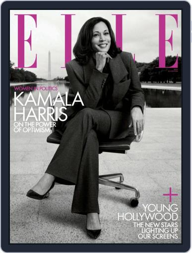 Elle (Digital) November 1st, 2020 Issue Cover