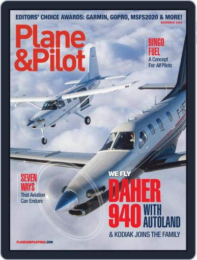 Plane & Pilot (Digital) December 1st, 2020 Issue Cover