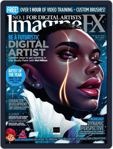 ImagineFX October 23rd, 2020 Digital Back Issue Cover