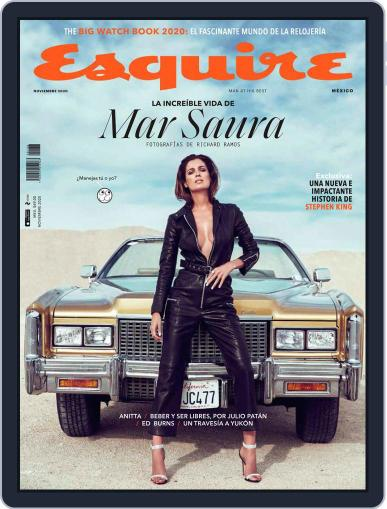 Esquire  México (Digital) November 1st, 2020 Issue Cover