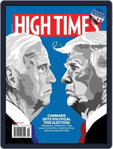 High Times October 1st, 2020 Digital Back Issue Cover