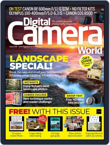Digital Camera World December 1st, 2020 Issue Cover