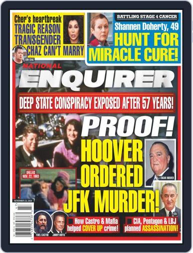 National Enquirer (Digital) November 23rd, 2020 Issue Cover