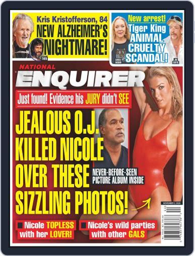 National Enquirer (Digital) November 2nd, 2020 Issue Cover