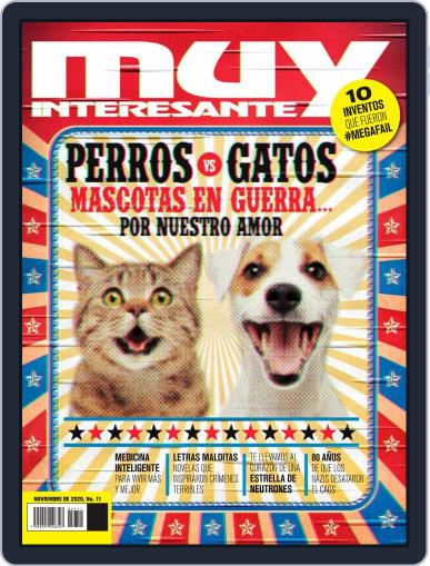 Muy Interesante México November 1st, 2020 Digital Back Issue Cover