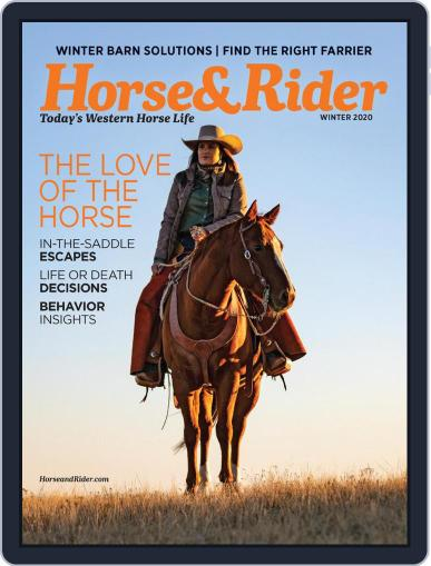 Horse & Rider (Digital) October 30th, 2020 Issue Cover