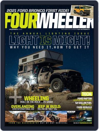 Four Wheeler December 1st, 2020 Digital Back Issue Cover