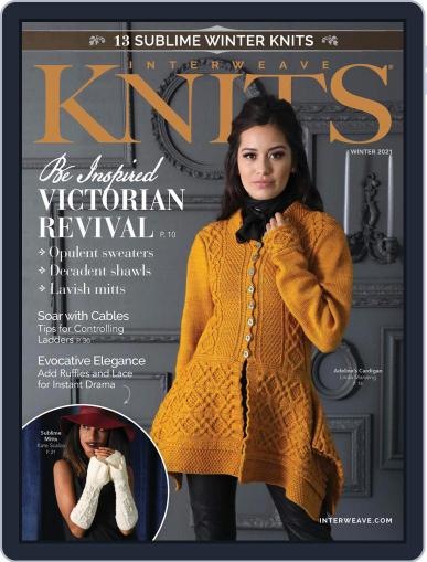 Interweave Knits October 22nd, 2020 Digital Back Issue Cover