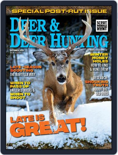 Deer & Deer Hunting December 1st, 2020 Digital Back Issue Cover