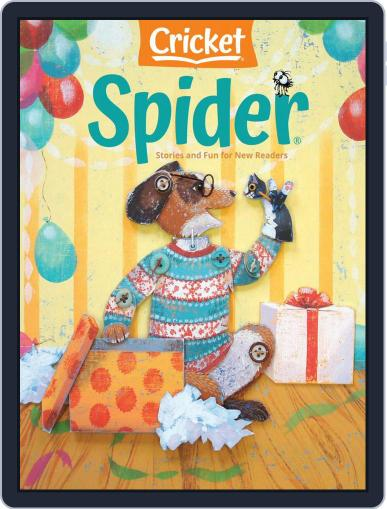 Spider Magazine Stories, Games, Activites And Puzzles For Children And Kids (Digital) November 1st, 2020 Issue Cover