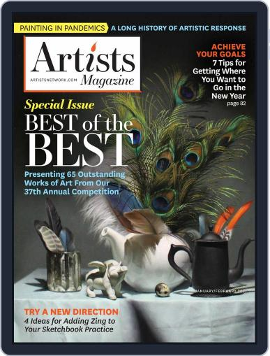 Artists January 1st, 2021 Digital Back Issue Cover