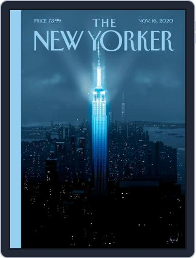 The New Yorker November 16th, 2020 Digital Back Issue Cover