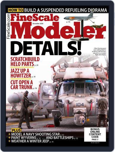 FineScale Modeler December 1st, 2020 Digital Back Issue Cover