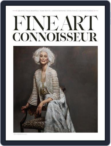 Fine Art Connoisseur November 1st, 2020 Digital Back Issue Cover