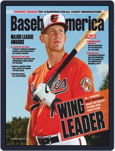 Baseball America (Digital) November 1st, 2020 Issue Cover