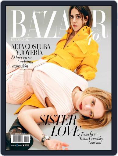 Harper's Bazaar México November 1st, 2020 Digital Back Issue Cover