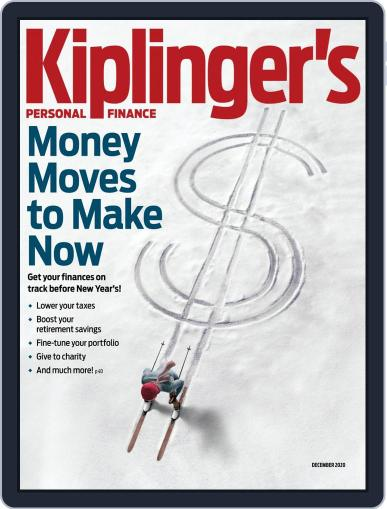 Kiplinger's Personal Finance (Digital) December 1st, 2020 Issue Cover