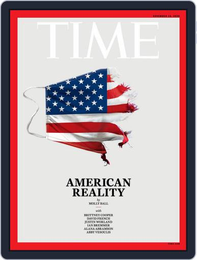 Time November 16th, 2020 Digital Back Issue Cover