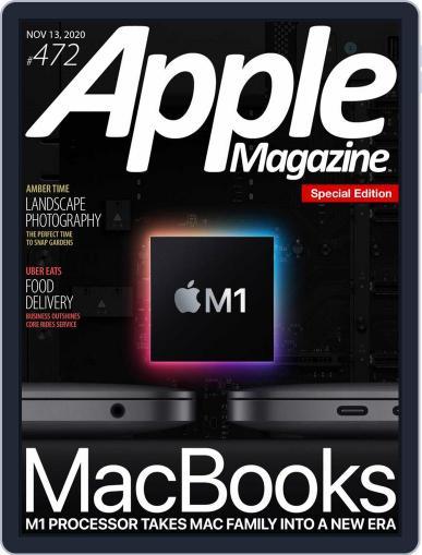 AppleMagazine November 13th, 2020 Digital Back Issue Cover