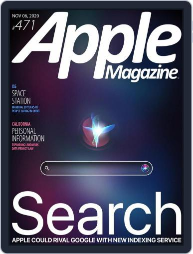 AppleMagazine November 6th, 2020 Digital Back Issue Cover