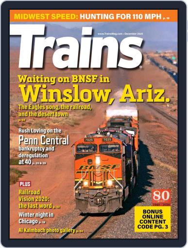 Trains (Digital) December 1st, 2020 Issue Cover