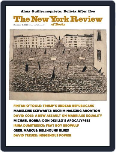 The New York Review of Books (Digital) December 3rd, 2020 Issue Cover