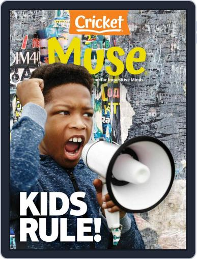 Muse: The Magazine Of Science, Culture, And Smart Laughs For Kids And Children (Digital) November 1st, 2020 Issue Cover