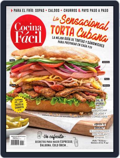 Cocina Fácil November 1st, 2020 Digital Back Issue Cover