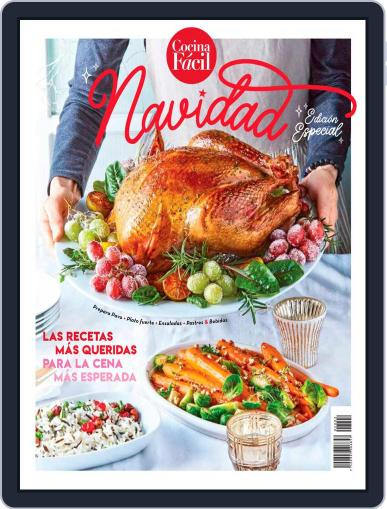 Cocina Fácil October 20th, 2020 Digital Back Issue Cover