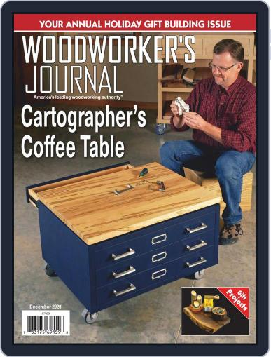 Woodworker's Journal (Digital) December 1st, 2020 Issue Cover
