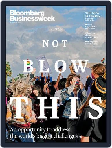 Bloomberg Businessweek (Digital) November 16th, 2020 Issue Cover