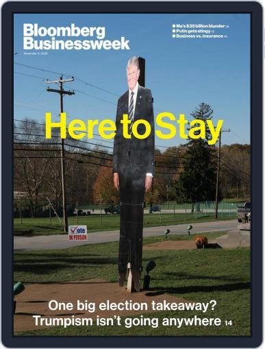 Bloomberg Businessweek November 9th, 2020 Digital Back Issue Cover