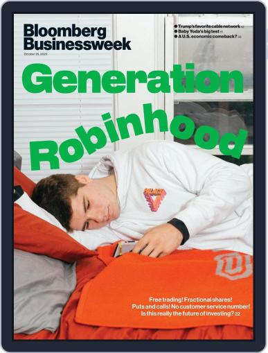 Bloomberg Businessweek (Digital) October 26th, 2020 Issue Cover