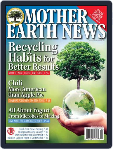 MOTHER EARTH NEWS (Digital) December 1st, 2020 Issue Cover