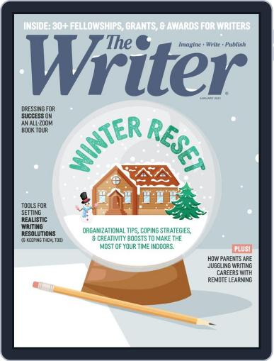 The Writer January 1st, 2021 Digital Back Issue Cover