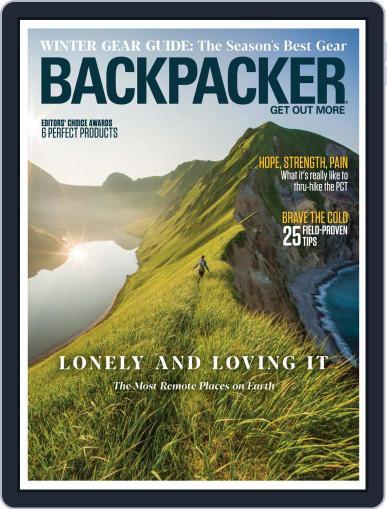 Backpacker November 1st, 2020 Digital Back Issue Cover