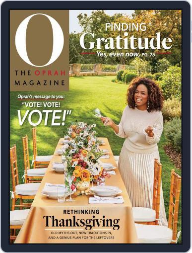 O, The Oprah Magazine (Digital) November 1st, 2020 Issue Cover