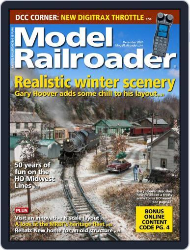 Model Railroader (Digital) December 1st, 2020 Issue Cover