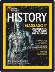 National Geographic History (Digital) Subscription November 1st, 2020 Issue