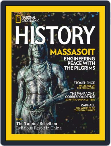 National Geographic History (Digital) November 1st, 2020 Issue Cover