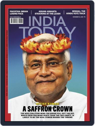 India Today (Digital) November 23rd, 2020 Issue Cover