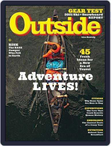 Outside (Digital) November 1st, 2020 Issue Cover