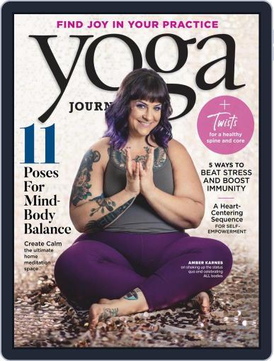 Yoga Journal (Digital) November 1st, 2020 Issue Cover