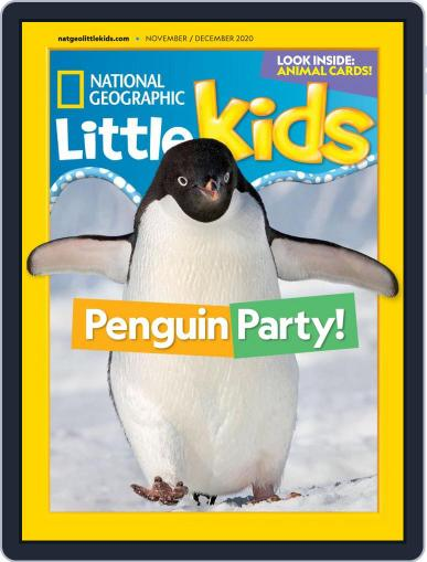 National Geographic Little Kids (Digital) November 1st, 2020 Issue Cover