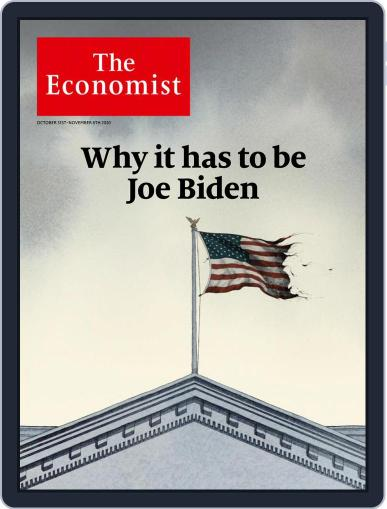 The Economist (Digital) October 31st, 2020 Issue Cover
